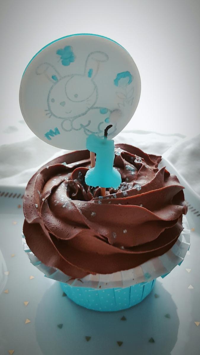 Cupcake au chocolat vegan