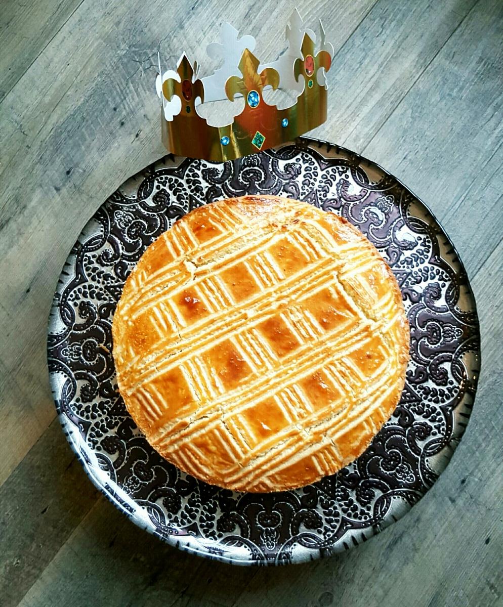 La galette des rois façon sablé breton