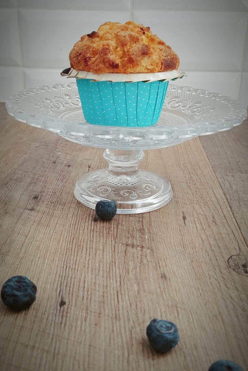 Muffins à la myrtille sans lactose