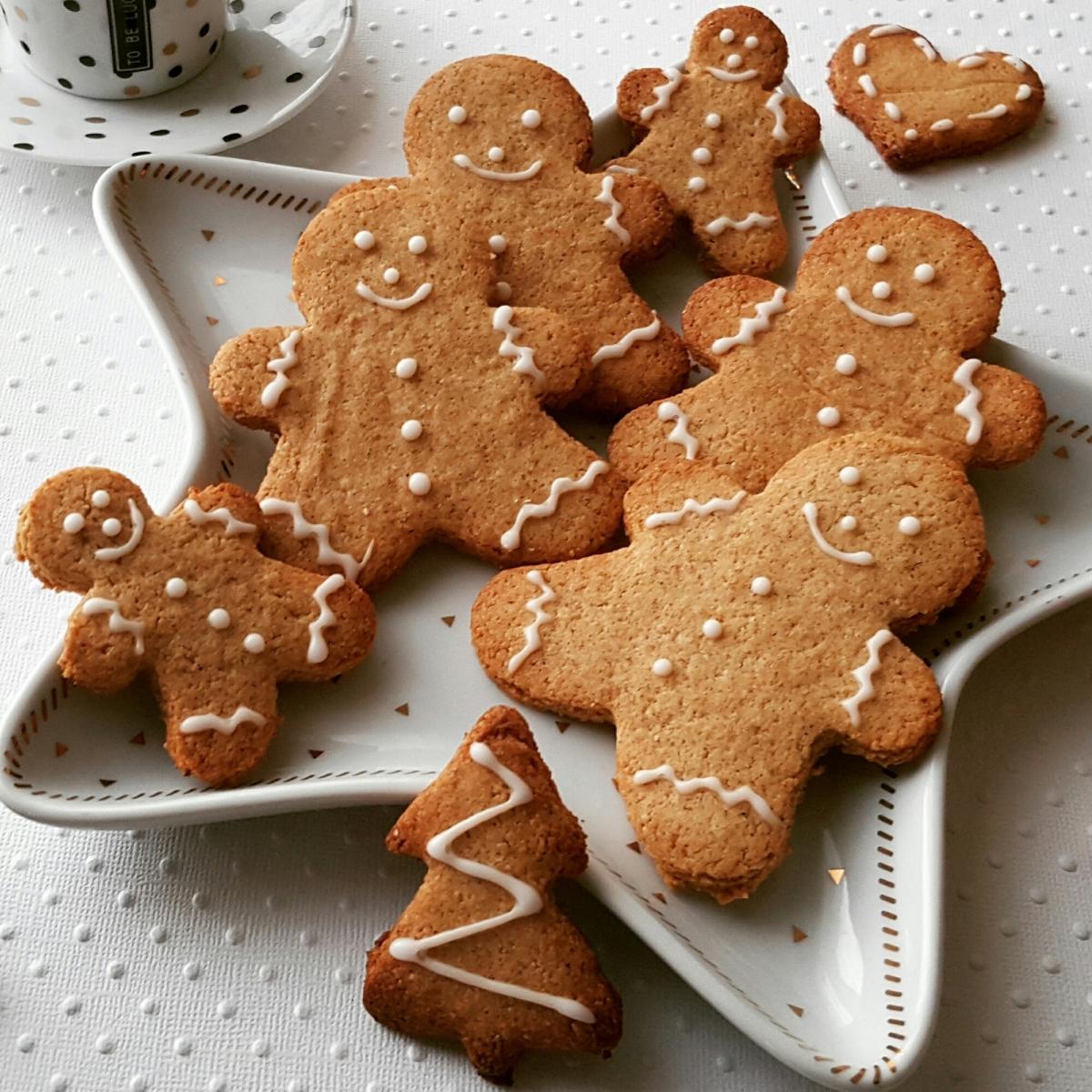 Biscuits bonhommes de Noël au pain d'épices!